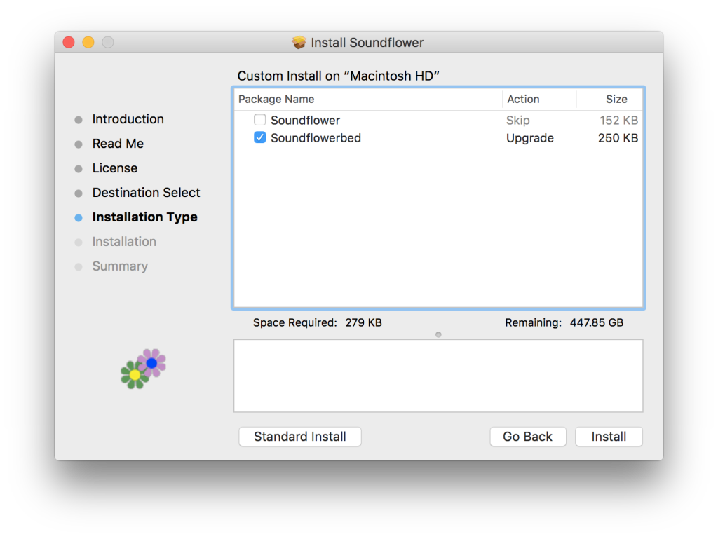 Configuring Soundflower for use with El Capitan for Multiple Output